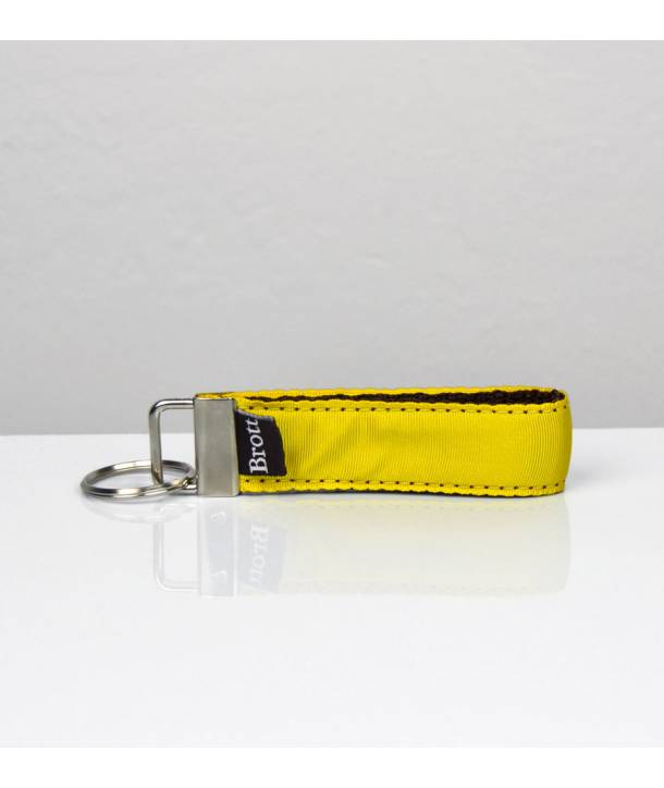 KEY RING SOLID YELLOW