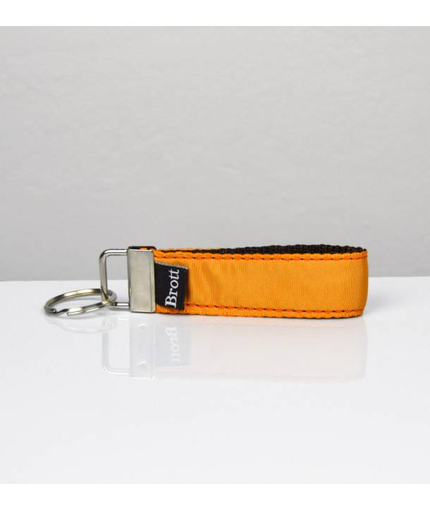 KEY RING SOLID MANDARIN