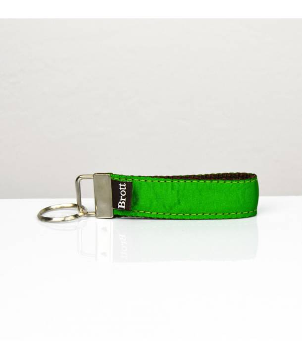 KEY RING SOLID GREEN FOREST