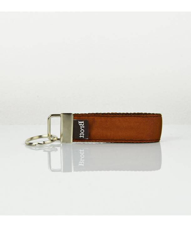KEY RING SOLID BROWN