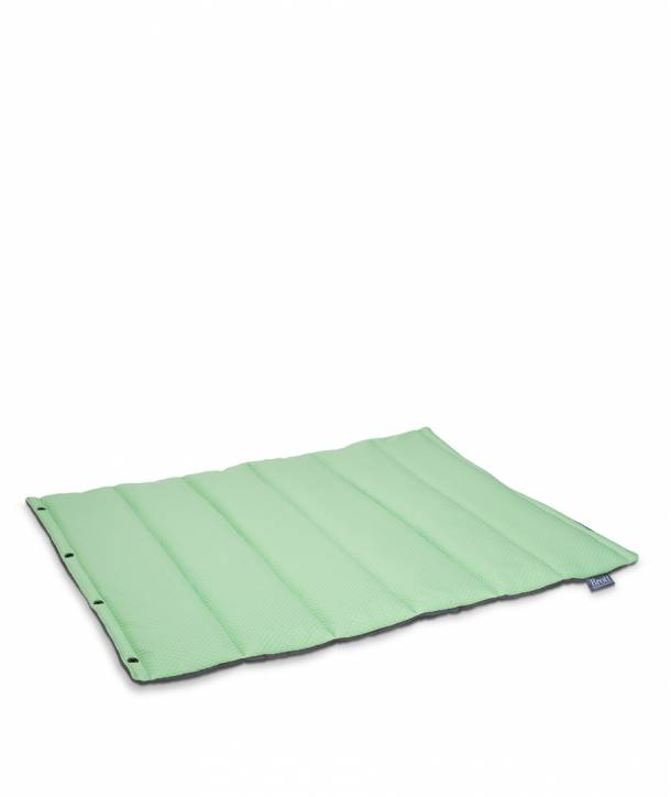 GREEN ROLL BED