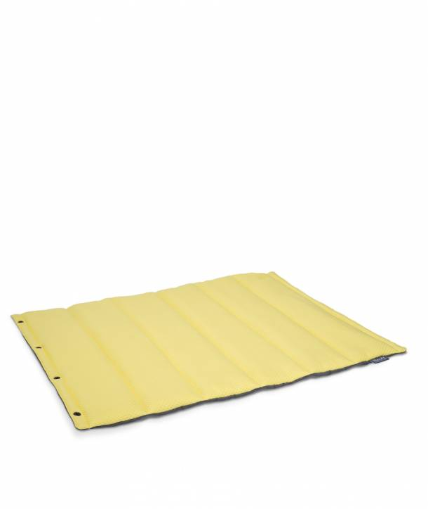 YELLOW ROLL BED