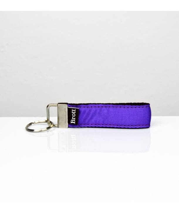 KEY RING SOLID PURPLE