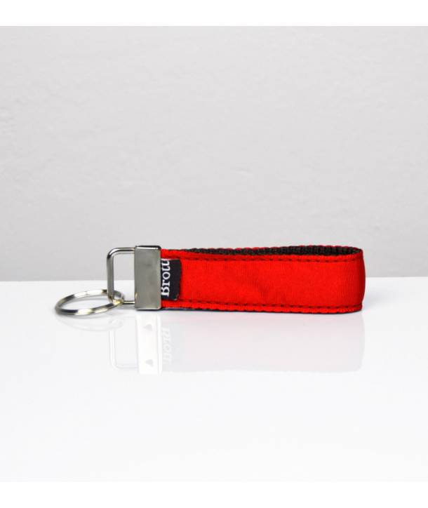 KEY RING SOLID RED