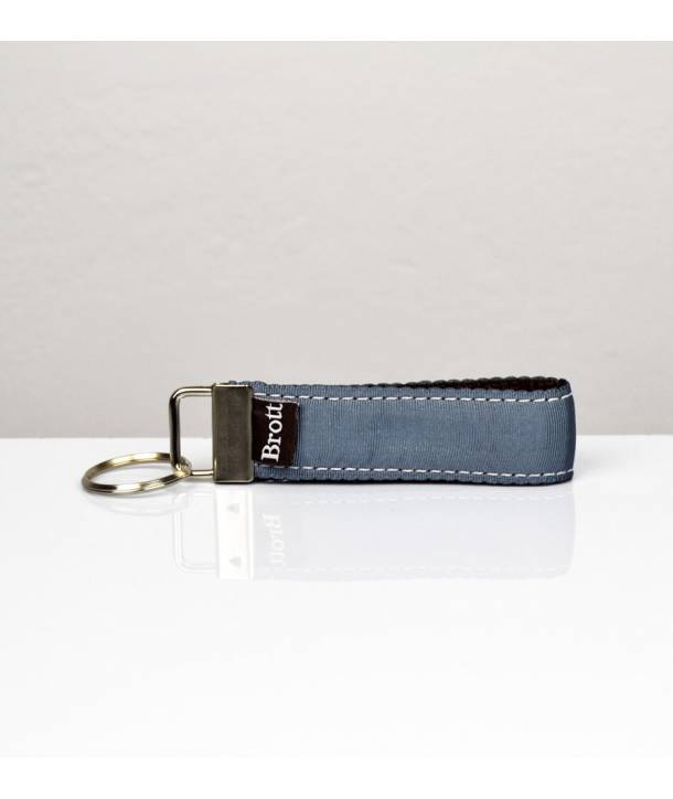 KEY RING SOLID GREY