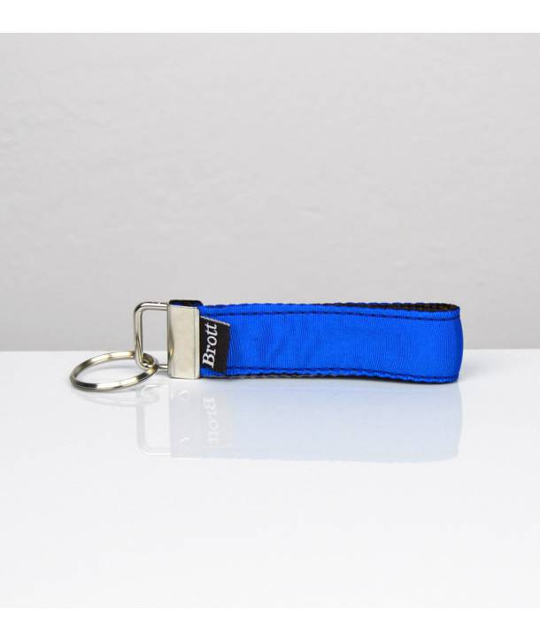 KEY RING SOLID ELECTRIC BLUE