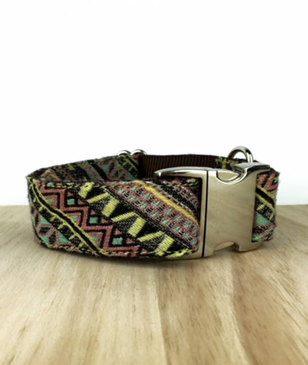 BIG SIZE DOG COLLAR TEXTURA AMER