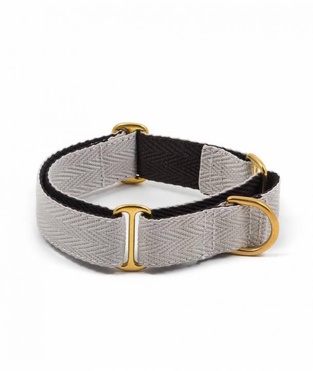 Collar per llebrer grey and black